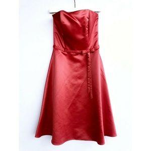 Jessica McClintock Dress | 4 | Strapless A-Line